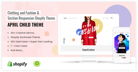APRIL#05 - Wonderful Theme for Fashion store online