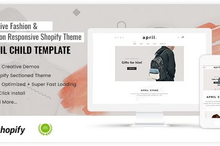 APRIL#08 - Strong theme for men fashion store online