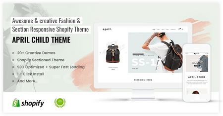 APRIL#09 - Classic theme for backpack store online