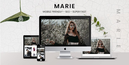Marie - Fashion Boutique Shopify Theme - Sections Content Builder