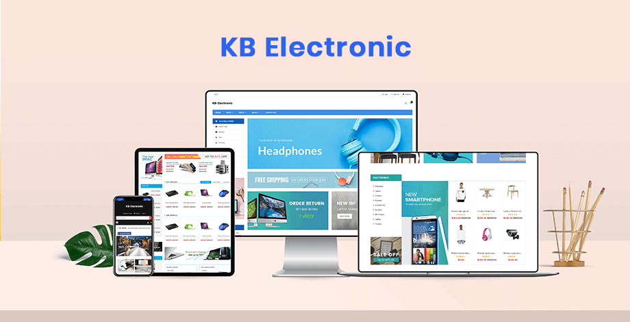 KBElectronic - Shopify sectioned theme for electronic, digital, computer, phone store