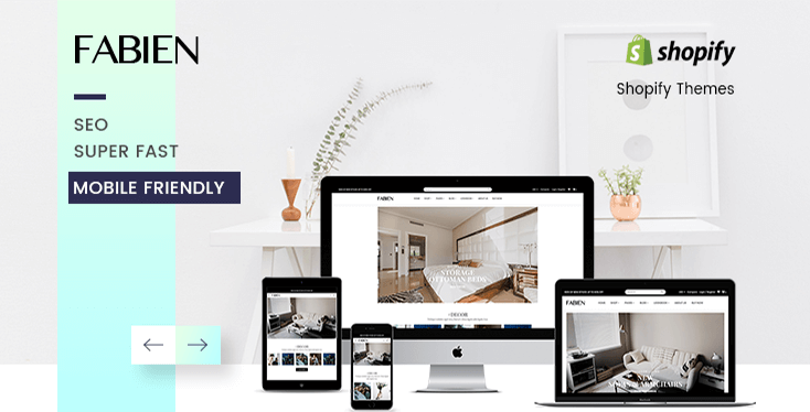 Fabien - Sectioned Shopify Theme for Furniture Store & Home Decoration