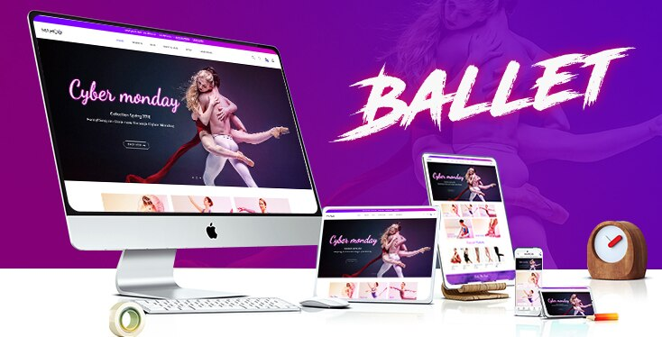 Marco Ballet - Premium Shopify theme for ballet dance stores