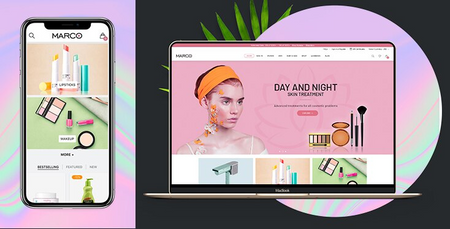 Marco Beauty - Premium Shopify theme for cosmetic stores