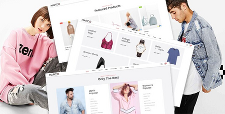 Marco Fashionage - Premium Shopify theme for online fashion boutiques