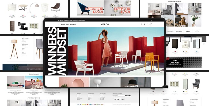 Marco Furniture - Premium Shopify theme for furniture stores
