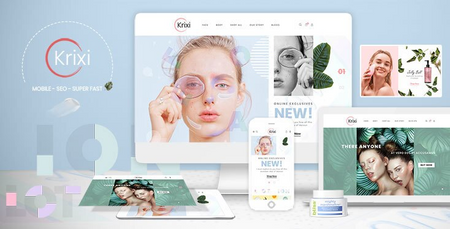 Krixi - Beauty & Cosmetic Shopify Theme