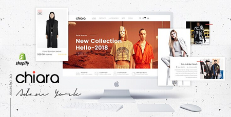 Chiara - Minimal Clean Shopify Theme For Online Fashion Store