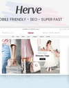 Herve - Clothing store Shopify theme - Clean, minimal, stylish design