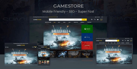 Mona-Game - Sectioned Shopify Theme for Game Store
