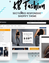 KBFashion - Shopify sectioned theme for fashion store