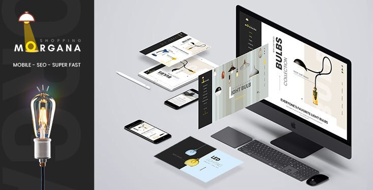 Morgana - Bulbs Store Shopify Theme - Sections supported
