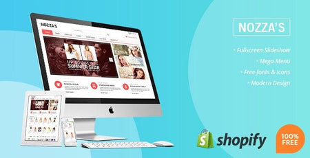 Nozza - Free Fashion Store Shopify Theme