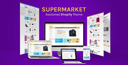 Supermarket - Large Store Sectioned Shopify Template