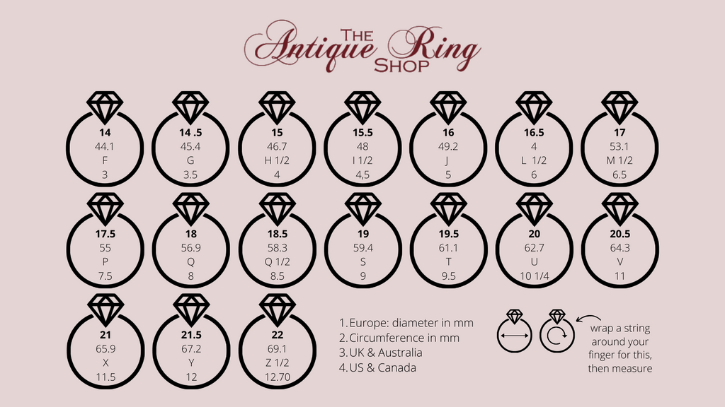 Ring Sizes - The Right Fit