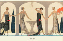 Art Deco style fashion and jewelry