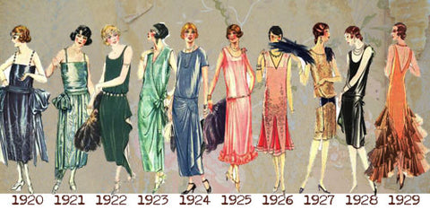 Art Deco fashion and jewelry