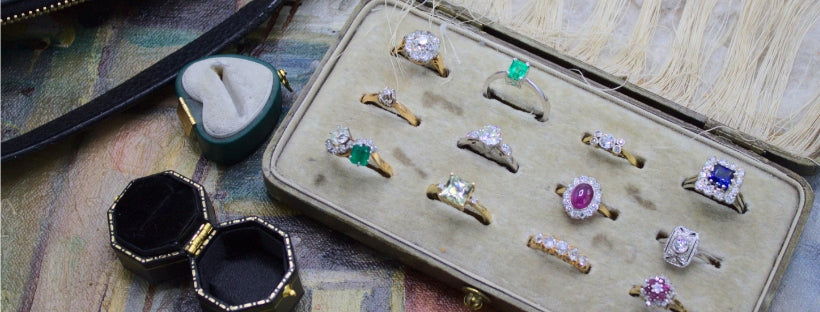 new and exciting antique and vintage rings and jewelry
