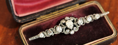 Antique brooch - heirloom jewelry
