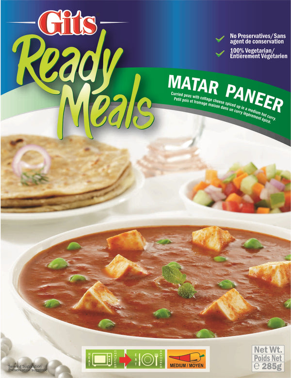 Indian Grocery eStore - Express Cart - Gits Matar Paneer
