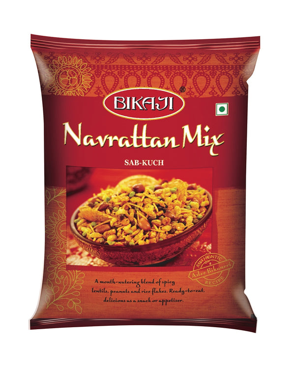 Indian Grocery eStore - Express Cart - Snacks - Bikaji Navrattan Mix