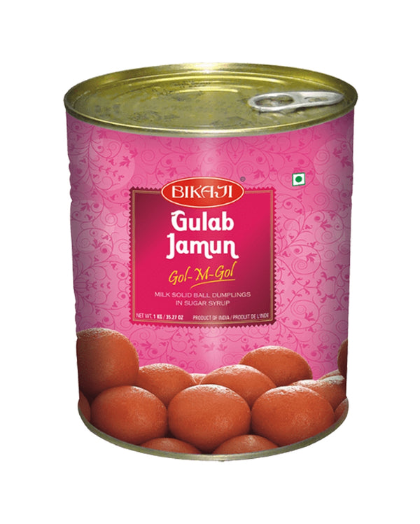 Indian Grocery eStore - Express Cart - Snacks - Bikaji Gulab Jamun
