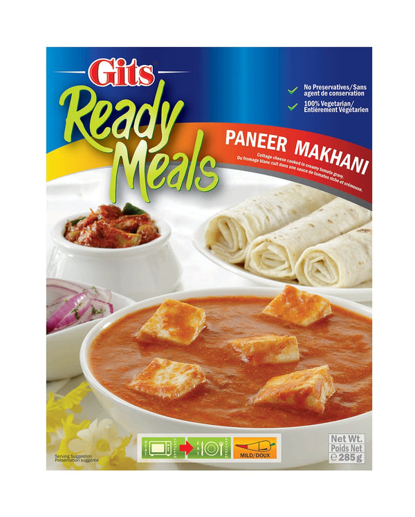 Indian Grocery eStore - Express Cart - Gits Paneer Makhani