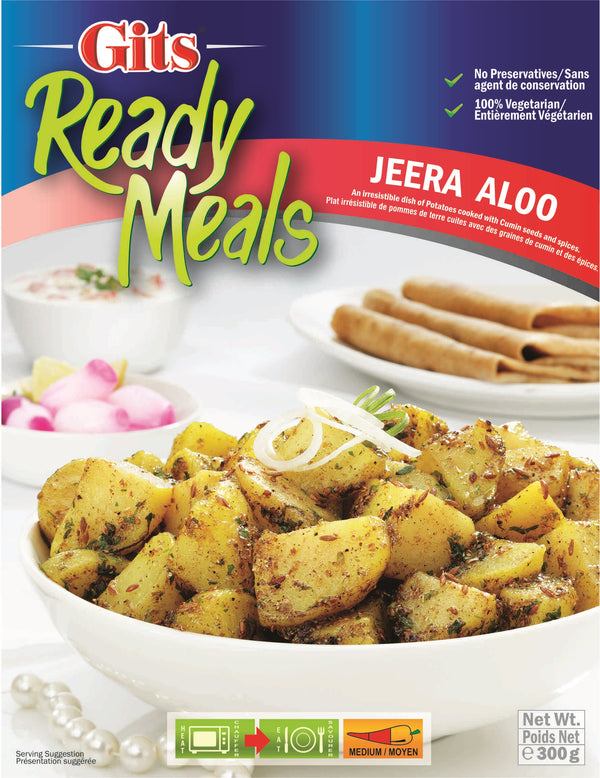 Indian Grocery eStore - Express Cart - Gits Jeera Aloo