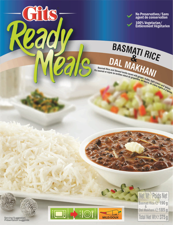 Indian Grocery eStore - Express Cart - Gits Rice w/ Dal Makhani