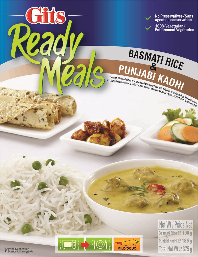 Indian Grocery eStore - Express Cart - Gits Rice w/ Punjabi Kadhi