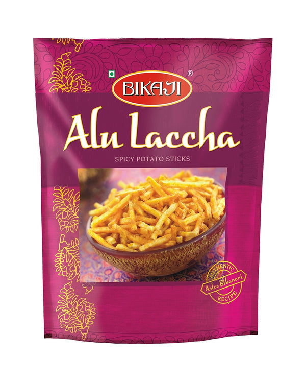 Indian Grocery eStore - Express Cart - Snacks - Bikaji Alu Laccha