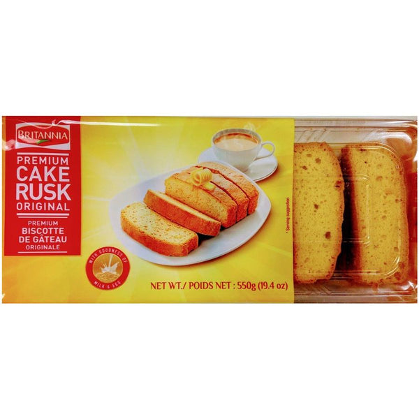 Indian Grocery eStore - Express Cart - Snacks - Britania Cake Rusk