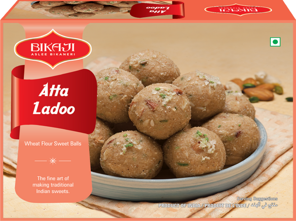 Indian Grocery eStore - Express Cart - Bikaji Atta Ladoo