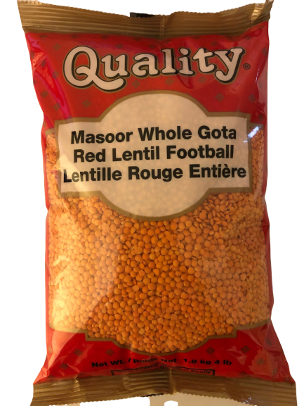 Indian Grocery eStore - Express Cart - Quality Masoor Whole Gota