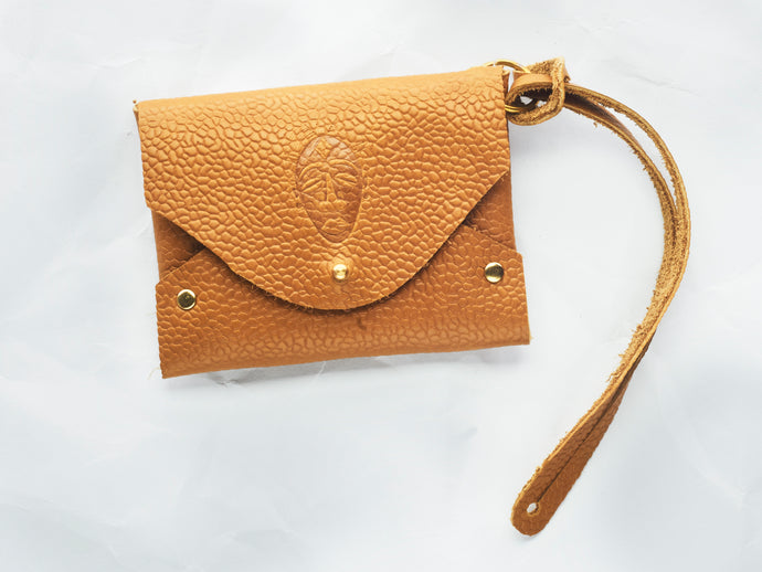 Leather Envelope  Card Holder