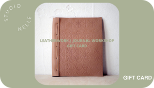 Journal Workshop Gift Card