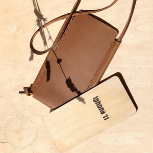 Leatherwork | How To Make A Leather Phone Pouch