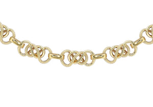"9ct Yellow Gold 7.5mm Celtic Chain 51cm/20"" - Dynagem"