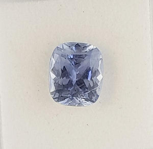 4.48ct Cushion Cut Sapphire 10x8.6mm