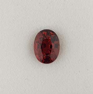 4.31ct Oval Faceted Garnet 10.2x7.7mm