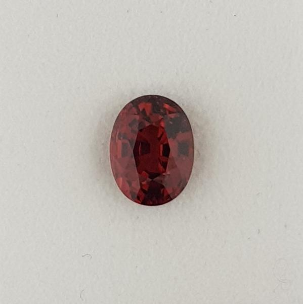 4.31ct Oval Faceted Garnet 10.2x7.7mm - Dynagem