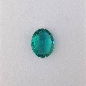 2.26ct Oval Faceted Emerald 10x8mm