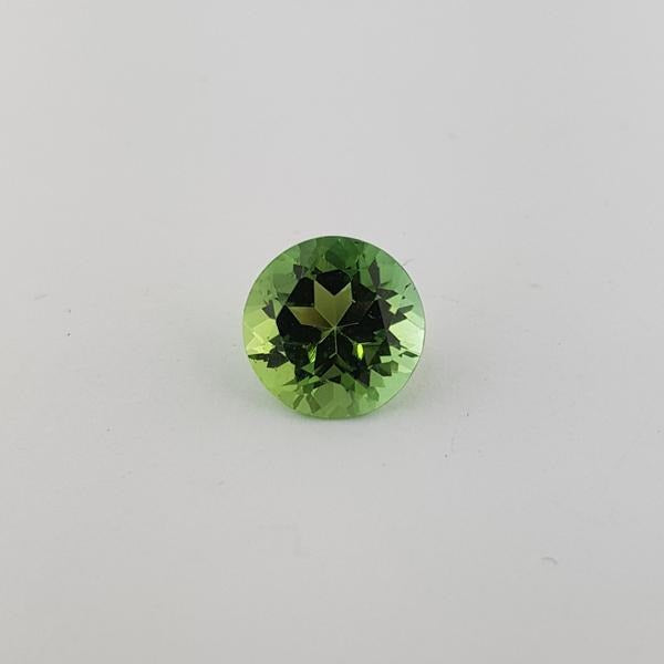 2.88ct Round Faceted Tourmaline 9mm