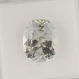 8.43ct Oval Faceted Sapphire 13x11mm