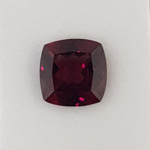 9.96ct Cushion Cut Garnet 13.3x13.4mm