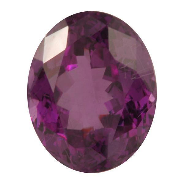 8.05ct Oval Rhodolite Garnet 13x10mm - Dynagem