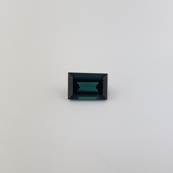 2.13ct Rectangular Cut Tourmaline 9.2x6.3mm