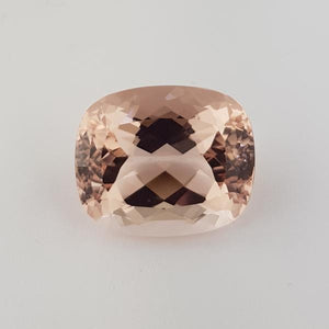 42.33ct Cushion Cut Morganite 24x20mm - Dynagem