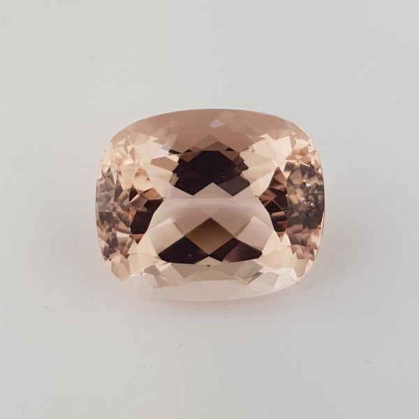 42.33ct Cushion Cut Morganite 24x20mm