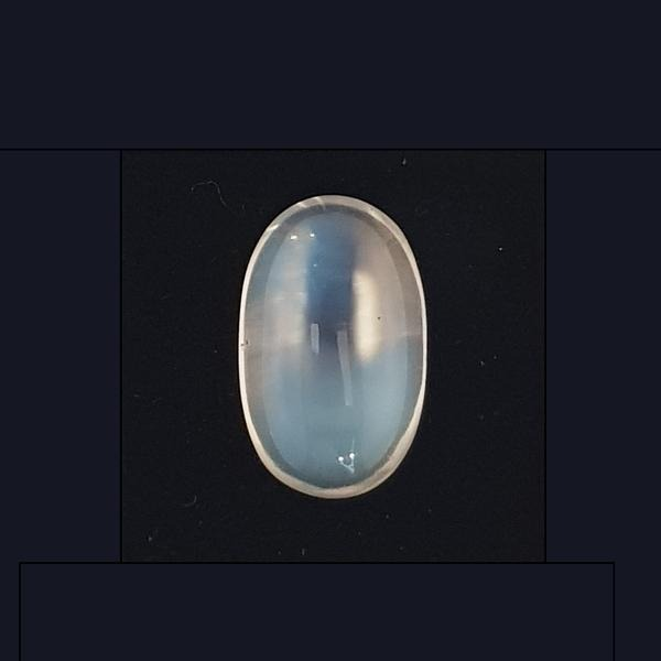 22.96ct Oval Cabochon Moonstone 22x14mm - Dynagem